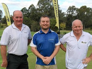 Python says hello at Westlawn Charity Golf Day