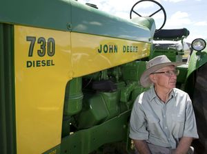 John Deere tractors go under the hammer