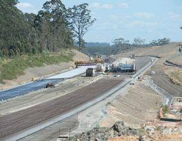 Nambucca interchange construction diverts traffic