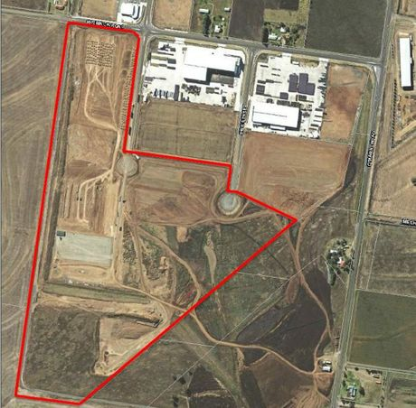Site plans for the proposed meat processing facility.