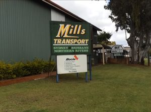 Last day for Mills Transport Company