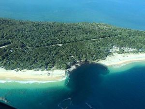Erosion, falling trees could continue at Inskip sinkhole