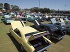 Toowoomba FX-FJ Holdens Clubs' All Holden Day at Valleys Rugby League Club.