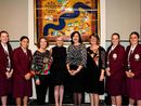 QUEENSLAND Premier Annastacia Palaszczuk returned to where it all started with a visit to St Mary's College at the weekend.