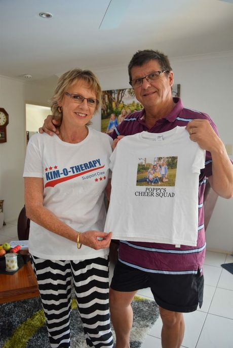 Currimundi man Kim Stokes and his wife Linda Stokes are pushing for a drug that could ease Kimm's mesothelioma symptoms to be added to the Pharmaceutical Benefits Scheme. Photo Stuart Cumming/ Sunshine Coast Daily
