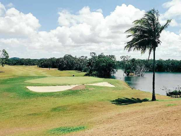 """LONG GOODBYE: The """"old"""" golf course at the Capricorn Resort in Yeppoon, which will be allowed to """"return to nature"""". INSET: The Araucaria Wing which will close on January 5, 2016."""