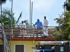 Asbestos being removed from a property along Main Road in Maroochydore. Photo: Che Chapman / Sunshine Coast Daily