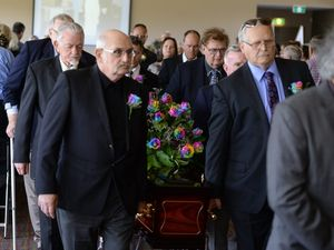 Pisasale talks at Don Livingstone's funeral
