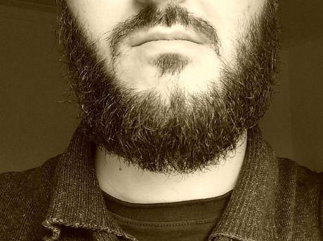 Verdi beard.
