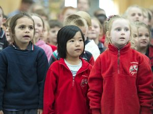 Harristown primary sings Music: Count Us In