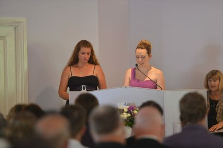 Funeral of Nicole Daly at the Cooloola Coast Crematorium chapel. Photo Craig Warhurst / The Gympie Times