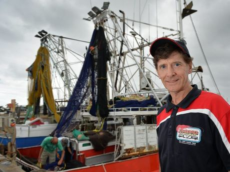"READY FOR THE BIG HAUL: Sandy Wood- Meredith said ""there will be a big effort ahead to get the prawns before they go into deeper waters""."