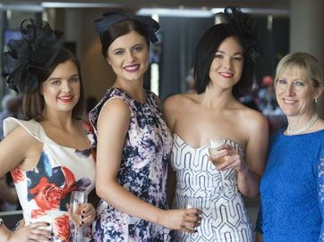 Check out all the glitz and glamour of Melbourne Cup celebrations in Toowoomba.