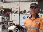 Donna proud to be first female fitter for Hay Pt