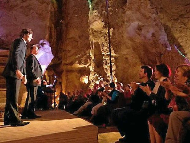 Man Cave Lismore : Capricorn caves has right acoustics affect for opera
