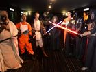 Retailer expects to sell 45,000 Lightsabers by Christmas Day