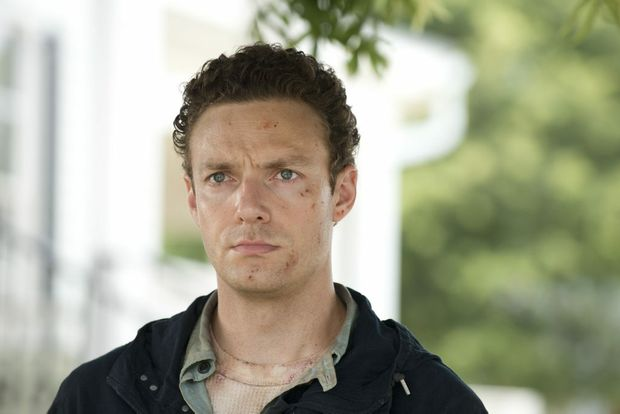 Ross Marquand as Aaron in The Walking Dead's Now (Season 6, Episode 5). Photo Credit: Gene Page/AMC. Supplied by Foxtel. Photo Contributed