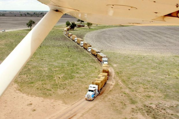 Burrumbuttock Hay Runners trip to central Queensland set to be the biggest hay donation on record. Contributed