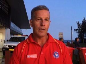 Shark attack - Lifesaver Duty Officer Gary Meredith