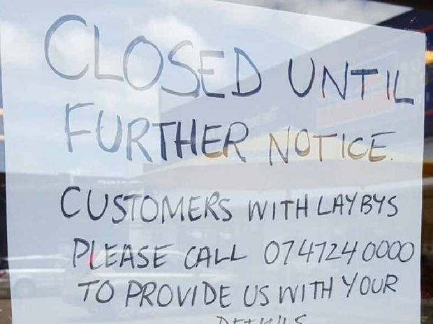 CLOSED: Bedshed stores closed two co-owned franchised stores in Mackay and Townsville without much notice.