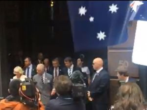 Prince Charles draws Sydney crowds