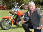 Rob Faux with his Harley Photo Tony Martin / Daily Mercury