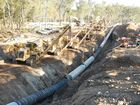QGC'S latest gasfield expansion, Project Charlie, has hit the quarter-way mark.