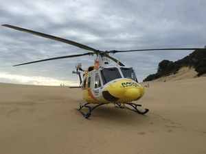Paraglider receives multi-trauma injuries at Rainbow Beach