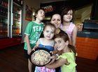 Pepperoni, mozzarella, lots of cheese for junior pizza chefs