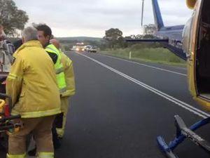 Car accident near Pittsworth Nov 22