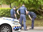 DOMESTIC VIOLENCE: A man is arrested after he allegedly held his pregnant partner captive with a knife to her throat in a unit in Mt Lofty . Wednesday, Nov 25, 2015 . Photo Nev Madsen / The Chronicle