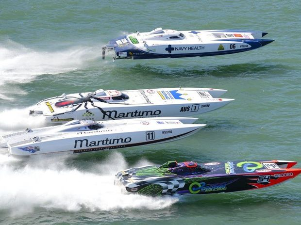 The superboats are returning to Hervey Bay next month.