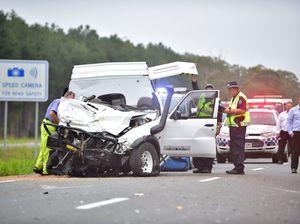 Fatal crash Bruce highway Bells Creek