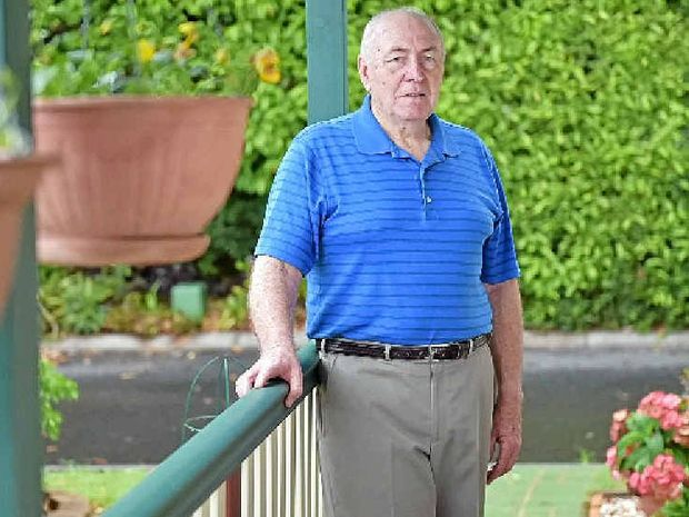 MATURE OUTLOOK: Palmwoods pensioner Warner Madden is past Coast president of a political party for seniors.