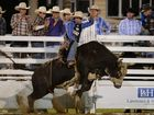 Emerald Ruralweekly PBR, Fraser Babbington on Bad Ink. Photo Allan Reinikka / The Morning Bulletin