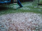 A SEVERE thunderstorm has dropped golf ball sized hail in Kingaroy this evening.