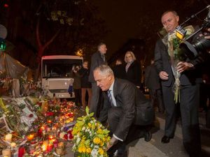 Turnbull in France: 'We are with the people of Paris'