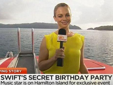 Sunrise Queensland correspondent Michelle Tapper.