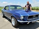 Tony Camilleri's Mustang Photo Tony Martin / Daily Mercury