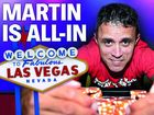 Martin is all-in for World Series of Poker event in Vegas