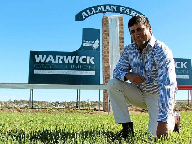 Warwick Turf Club president Phil Grant. There is growing concern over Racing Queensland's sustainability plan and its effect on country racing clubs like Warwick.