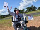 TOLL road operator Transurban has invoiced a Mundubbera man for crossing Brisbane's Gateway Bridge despite him not having visited Brisbane for more than a decade.