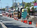 CONSTRUCTION work on a bike path along Brisbane Rd in Buddina was the final straw for a booming sewing business that suffered a big drop in trade.