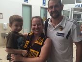 REIGNING AFL premier Hawthorn has touched down on the Sunshine Coast to start its gruelling 10-day training camp.