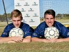 JACOB Downey and Xavier Townsend both have the same goal: to play for the Socceroos.