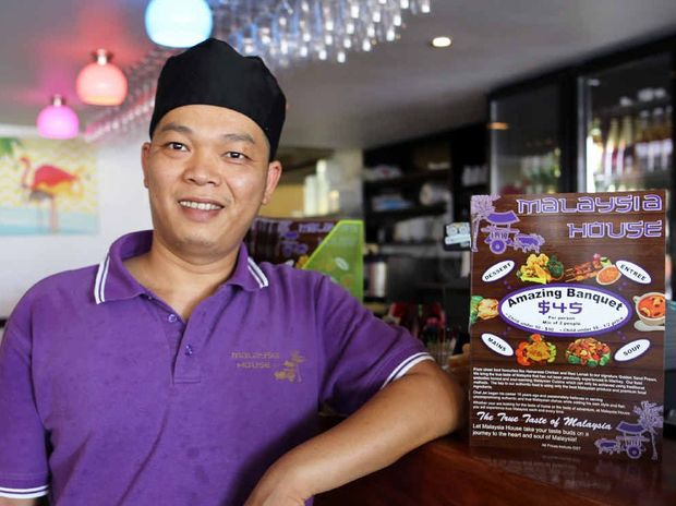 NEW BUSINESS: Chef and owner at Malaysia House on Bolsover St, Jet Li.