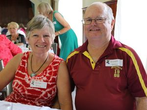 Volunteers celebrate at Toowoomba Hospital Christmas lunch