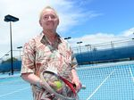Rod Laver: His 200 singles titles are the most in tennis history and he holds the all-time male singles records of 22 titles in one season, also in 1962. Photo Sharyn O'Neill / The Morning Bulletin