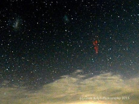 The mysterious sprite photographed on the Darling Downs.