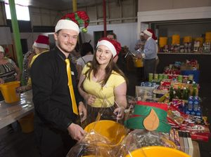 Yellow Bucket Appeal for Christmas